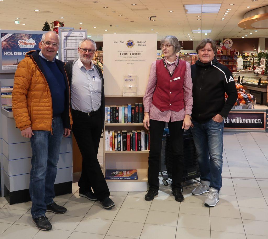 Lions Club Datteln / Waltrop Bücherregal
